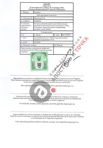 Apostille on birth certificate apostillization of birth certificate yelopaper Images