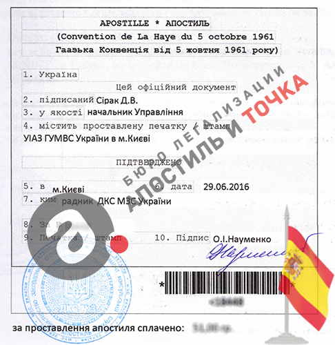 Apostillization Of Documents For Spain Affixing Apostille Stamp On