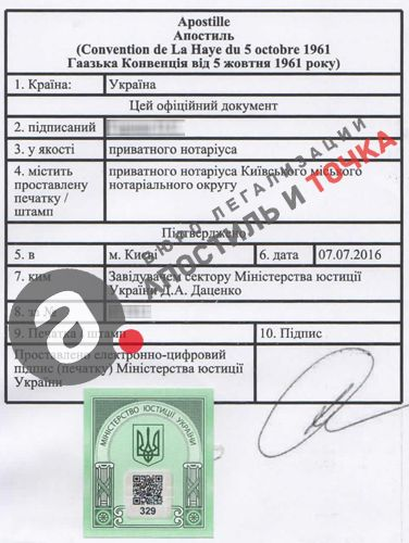 Affix Apostille On Power Of Attorney In UkraineHow To Apostille